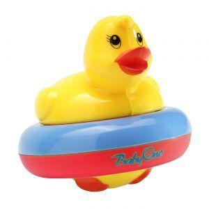 259 BabyOno patkica za kupanje plavo-crvena