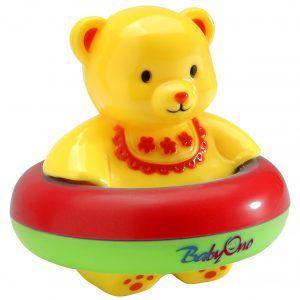 260 BabyOno igračka za kupanje medo dcrveno-zelena