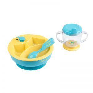 Set za hranjenje plavi