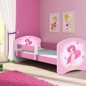 djecji-krevet-rozi-s-bocnom-stranicom