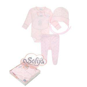 sofija-kompletic-odjece-4-dijela-gwiazdeczka-roza