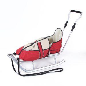 Kunert sanjke za djecu s toplom vrećom - crvene