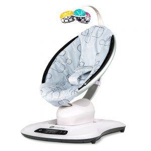MamaRoo 4moms njihaljka ljuljačka za bebe silver plush