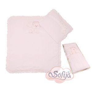 Sofija Anastazja posteljina 2 dijela roza