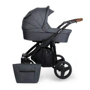 Dječja kolica Kunert ROTAX crna rama, boja 01