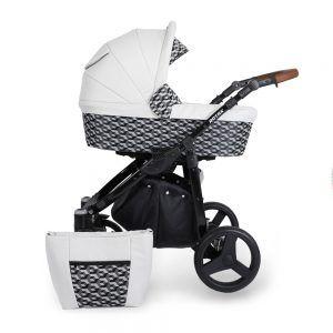 Dječja kolica Kunert ROTAX crna rama, boja 02