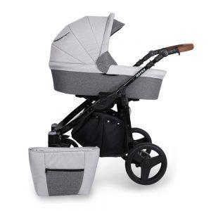 Dječja kolica Kunert ROTAX crna rama, boja 03