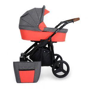 Dječja kolica Kunert ROTAX crna rama, boja 11