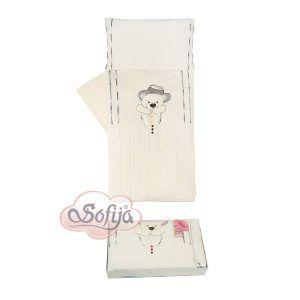 Sofija set od 5 dijelova gracjan bijelo-krem