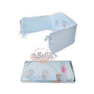 Sofija zaštitna ogradica Moli, boja plava