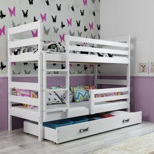 Dječji krevet BMS Eryk bijeli za dvoje djece naslovna