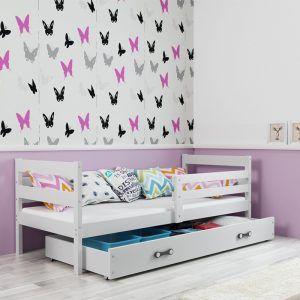 Dječji krevet BMS Eryk bijeli za jedno dijete naslovna