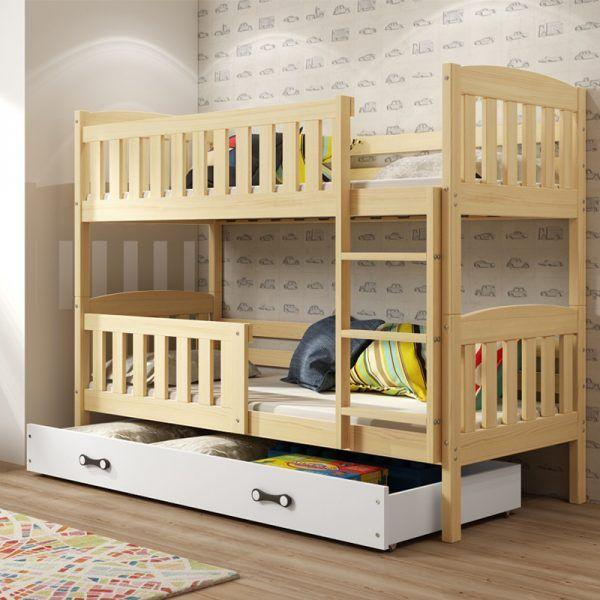 Dječji krevet BMS Kubus pine za dvoje djece naslovna