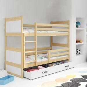 Dječji krevet BMS RICO pine za dvoje djece naslovna