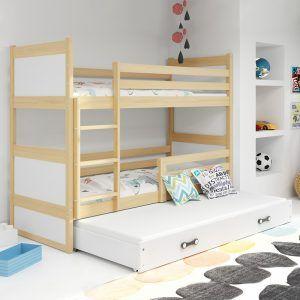 Dječji krevet BMS RICO pine za troje djece naslovna