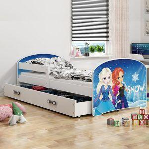 Dječji krevet BMS LUKI bijeli naslovna