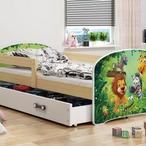 Dječji krevet BMS LUKI pine Džungla