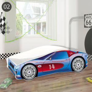 ACMA dječji krevet CAR auto 02