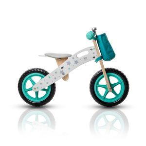 Dječji balans bicikl bez pedala Kinderkraft RUNNER STARS 04