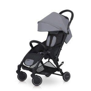 Dječja kolica Easy-GO Minima sportska boja Siva - Grey Fox 02
