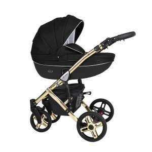 Dječja kolica Kunert MILA Premium GOLD 04 crna