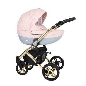 Dječja kolica Kunert MILA Premium GOLD 05 puder roza