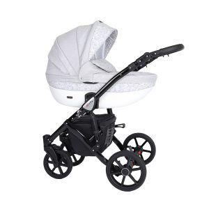 Dječja kolica Kunert Mila crna rama boja 12n