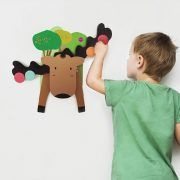 Drvena igračka Oribel VERTIPLAY Smiješni jelen 1