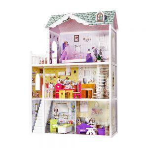 4108 Drvena kuća za lutke Ecotoys Barbie Residence Beverly Hills Ecotoys 02