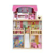 4109 Drvena kuća za lutke Ecotoys Raspberry Residence 2 03