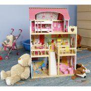 4109 Drvena kuća za lutke Ecotoys Raspberry Residence 2 06
