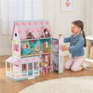 Dječja drvena kuća za lutke Abbey Manor 06
