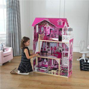 Dječja drvena kuća za lutke Amelia 06