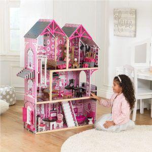 Dječja drvena kuća za lutke Bella 06