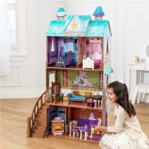 Dječja drvena kuća za lutke Disney Frozen Arendelle Palace 06