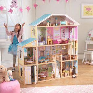 Dječja drvena kuća za lutke Majestic Mansion 05