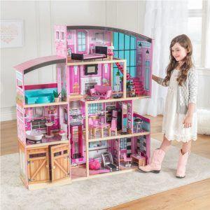 Dječja drvena kuća za lutke Shimmer Mansion 07