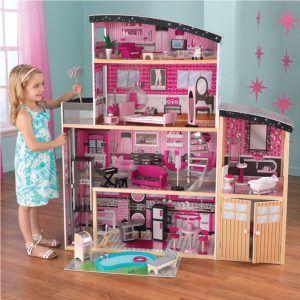 Dječja drvena kuća za lutke Sparkle 09