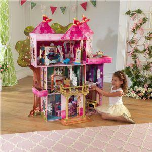 Dječja drvena kuća za lutke Storybook Mansion 06