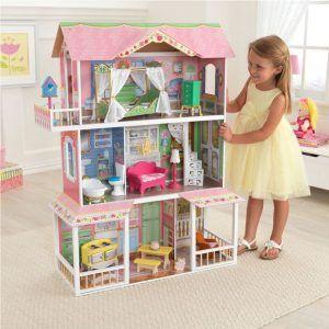 Dječja drvena kuća za lutke Sweet Savannah 06