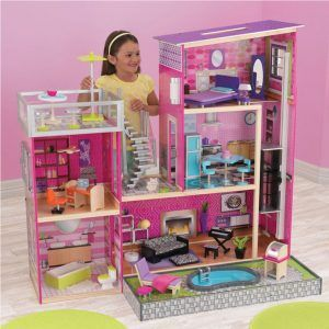 Dječja drvena kuća za lutke Uptown 07
