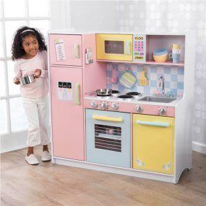 Dječja kuhinja Large Pastel 04