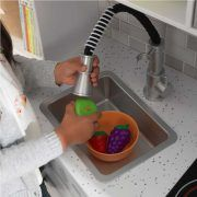Dječja kuhinja Large Play Kitchen With Lights & Sounds - White 01