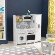 Dječja kuhinja Large Play Kitchen With Lights & Sounds - White 05