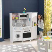Dječja kuhinja Large Play Kitchen With Lights & Sounds - White 06