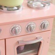 Dječja kuhinja Vintage Play Kitchen - Pink 01