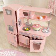 Dječja kuhinja Vintage Play Kitchen - Pink 04