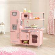 Dječja kuhinja Vintage Play Kitchen - Pink 05
