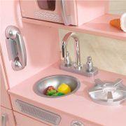 Dječja kuhinja Vintage Play Kitchen - Pink 08