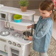 Dječja kuhinja Vintage Play Kitchen - White 03